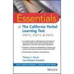 Essentials of the California Verbal Learning Test: CVLT-C, CVLT-2, & CVLT3