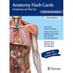 Anatomy Flash Cards, Latin Nomenclature Anatomy on the Go