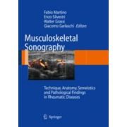 Musculoskeletal Sonography Technique, Anatomy, Semeiotics and Pathological Findings in Rheumatic Diseases