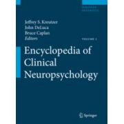 Encyclopedia of Clinical Neuropsychology print+eReference (book + online access)