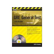CliffsNotes GRE General Test, with CD-ROM