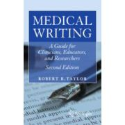 Medical Writing  A Guide for Clinicians, Educators, and Researchers