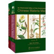 An Illustrated Atlas of Commonly Used Chinese Materia Medica, 3 volumes set
