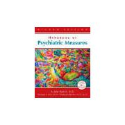 Handbook of Psychiatric Measures Book plus CDROM