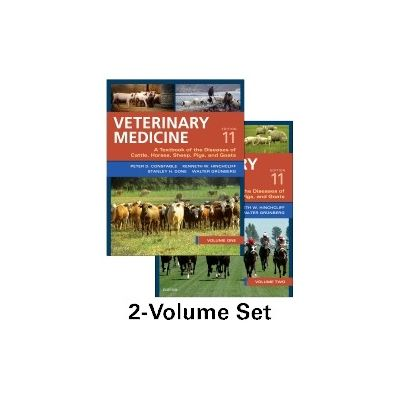 Veterinary Medicine A textbook of the diseases of cattle, horses, sheep, pigs and goats - two-volume set