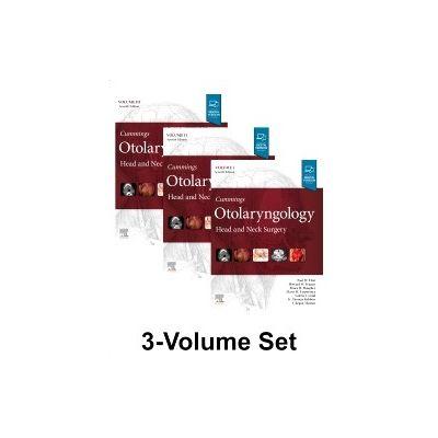 Cummings Otolaryngology, Head and Neck Surgery, 3-Volume Set