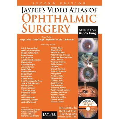 Jaypee's Video Atlas of Ophthalmic Surgery
