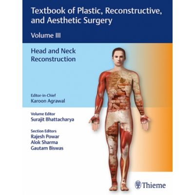 Textbook of Plastic, Reconstructive, and Aesthetic Surgery (Vol. 3) Head and Neck Reconstruction