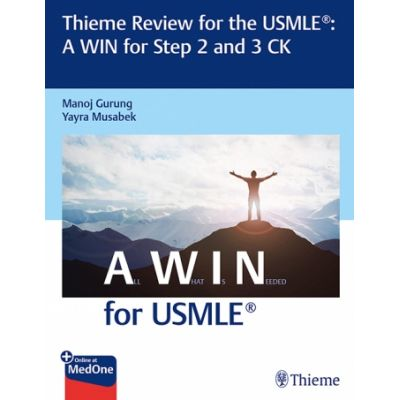 Thieme Review for the USMLE®: A WIN for Step 2 and 3 CK